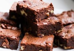 Brownies sin Harina
